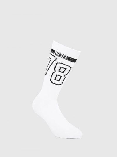 גרביים לבנים עם הדפס 78-