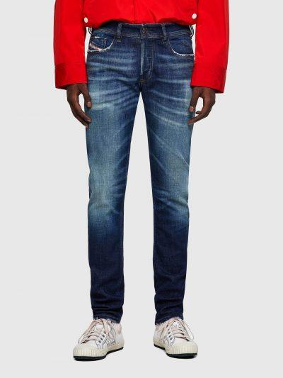 ג׳ינס סקיני כחול כהה לא מאוד צמוד