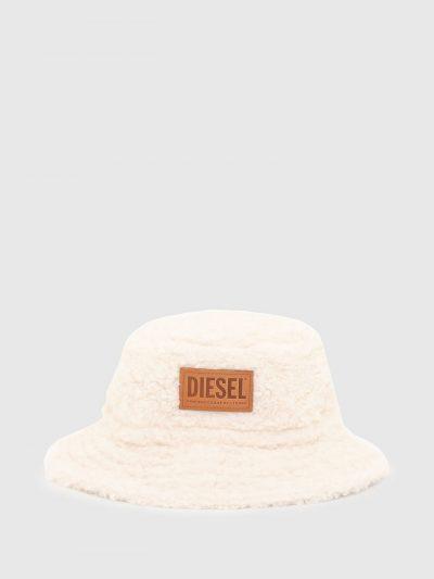 כובע באקט פרוותי חום-לבן