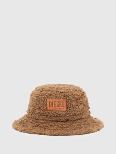כובע באקט פרוותי לבן-חום